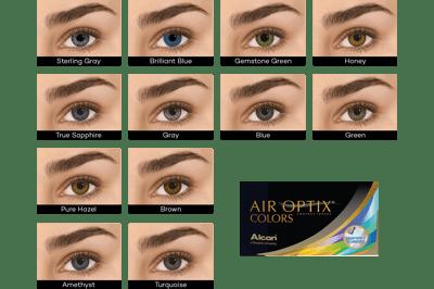 AIR OPTIX COLORS (2 linser)