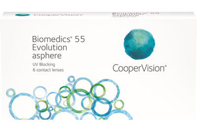 Biomedics 55 evolution (6 linser)