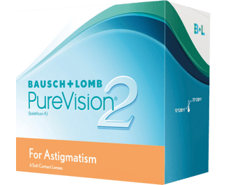 PureVision 2 for Astigmatism (6 linser)